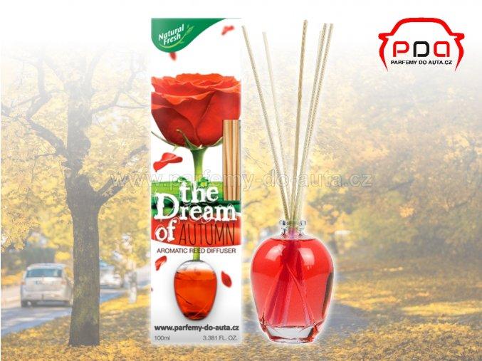 Aroma difuzér The Dream of Autumn podzim bytová vůně Natural Fresh