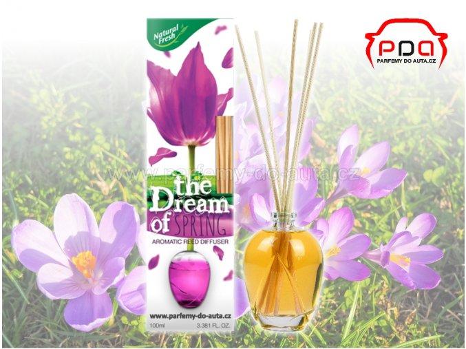 Aroma difuzér The Dream of Spring Jaro bytová vůně Natural Fresh