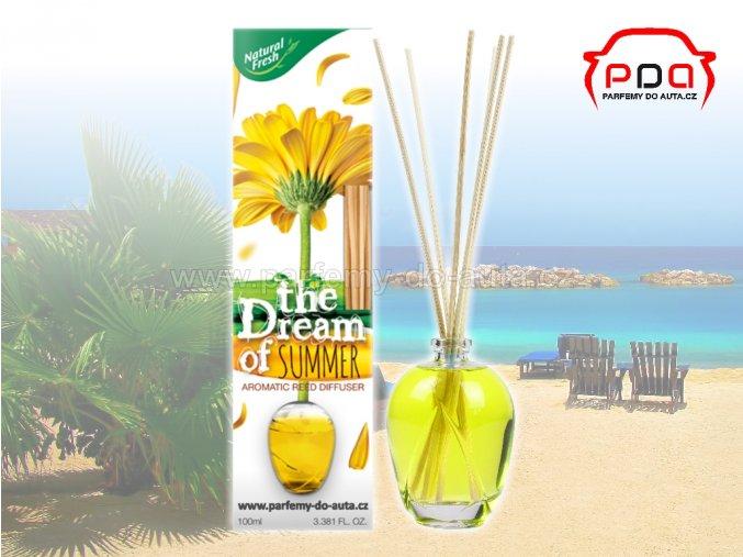 Aroma difuzér The Dream of Summer Léto bytová vůně Natural Fresh