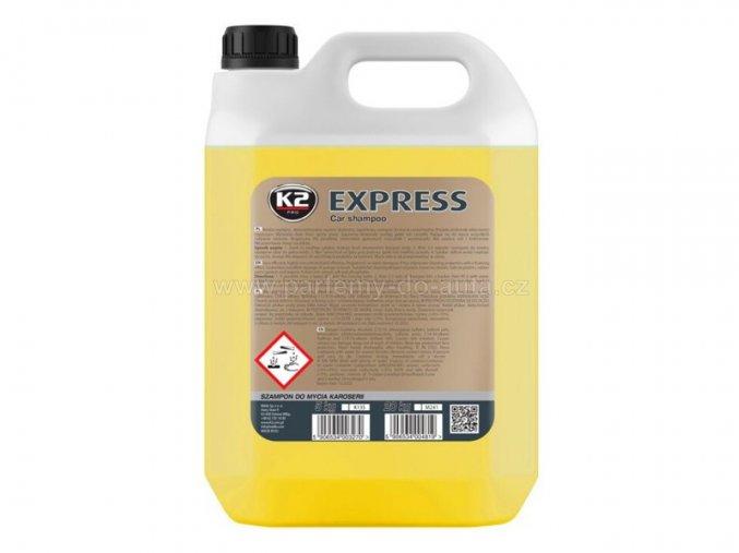 K2 Express autošampon koncentrát kanystr 5 L vysoce pěnivý