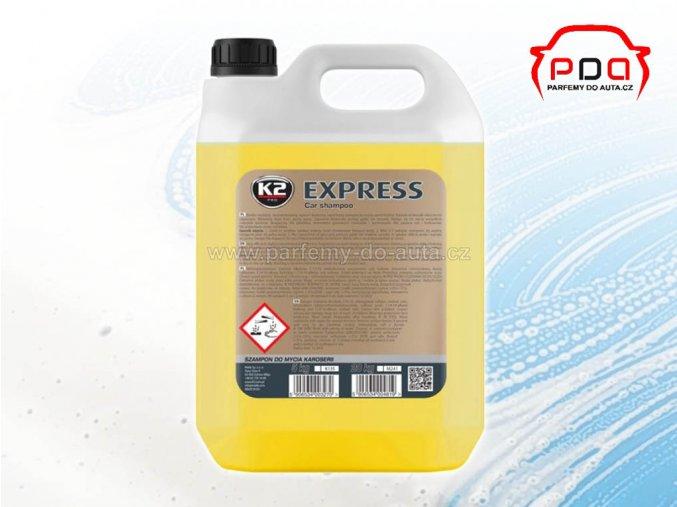 K2 Express autošampon koncentrovaný 5 litrů vysoce pěnivý