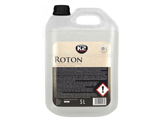 Roton K2 čistič disků kol 5 litrů velké balení s červeným efektem