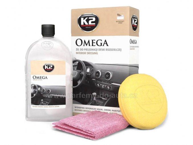 K2 Omega impregnace na palubní desku a interiérové plasty