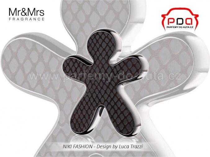 Panáček Niki Fashion Black Orchid černý Mr Mrs Fragrance