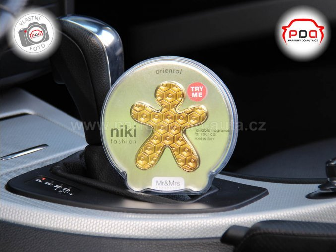 Panáček Niki Fashion Oriental zlatý Mr Mrs Fragrance