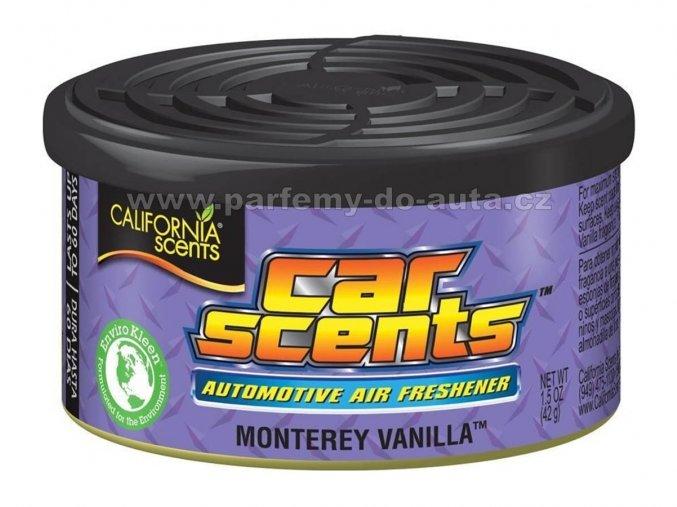 California Car Scents Monterey Vanilla Vanilka
