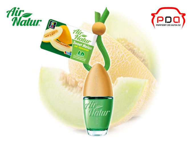 Vůně do auta Air Natur Bottle Sweet Melon sladký meloun