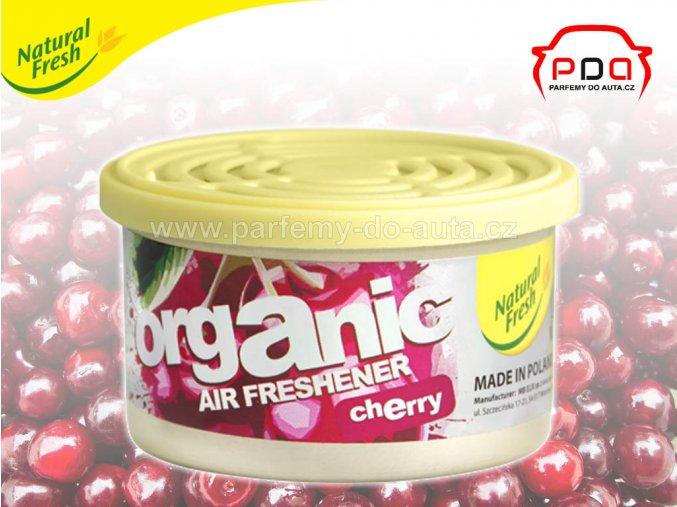 Organic Pure Cherry Višeň vonná plechovka do auta