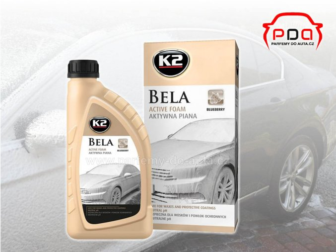 Bela K2 aktivní pěna pH neutrální na mytí automobilu