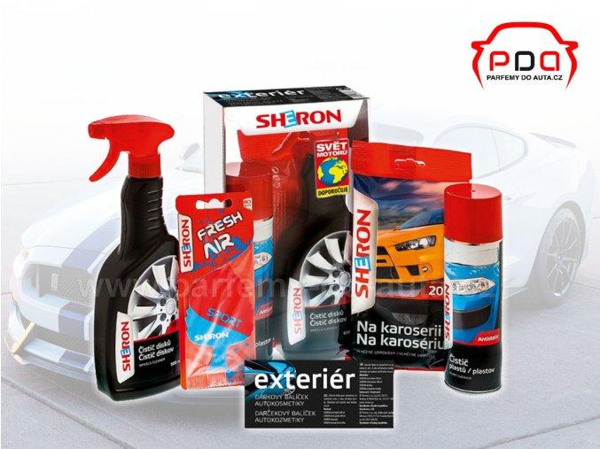 Dárkové balení autokosmetiky Sheron pro exteriér