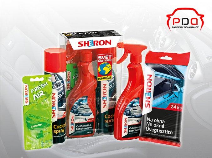 Dárkové balení autokosmetiky Sheron pro interiér