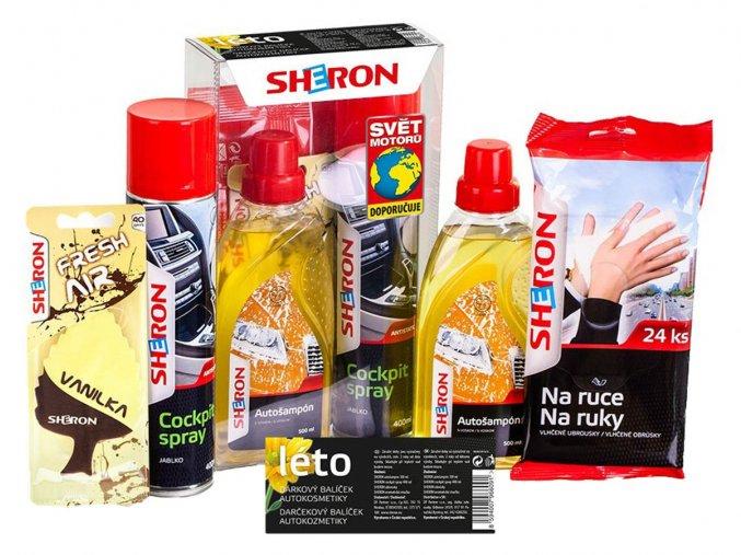 Dárkové balení sada autokosmetiky Sheron léto
