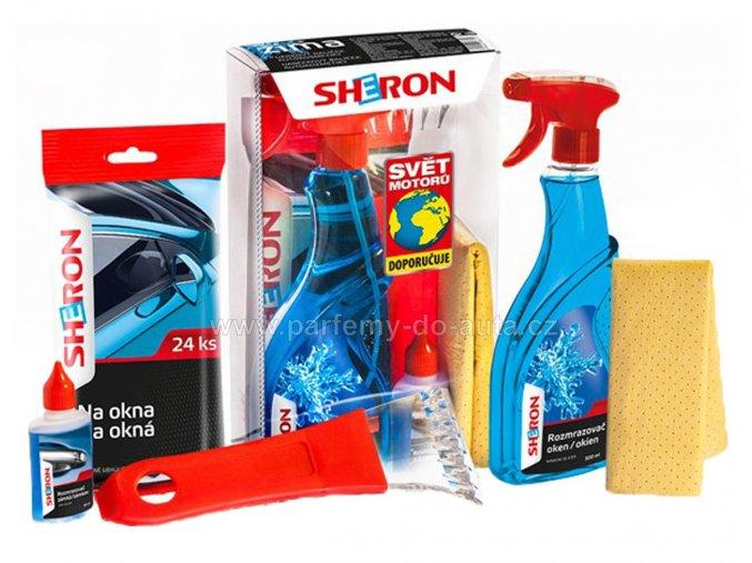 Dárkové balení sada autokosmetiky Sheron zima