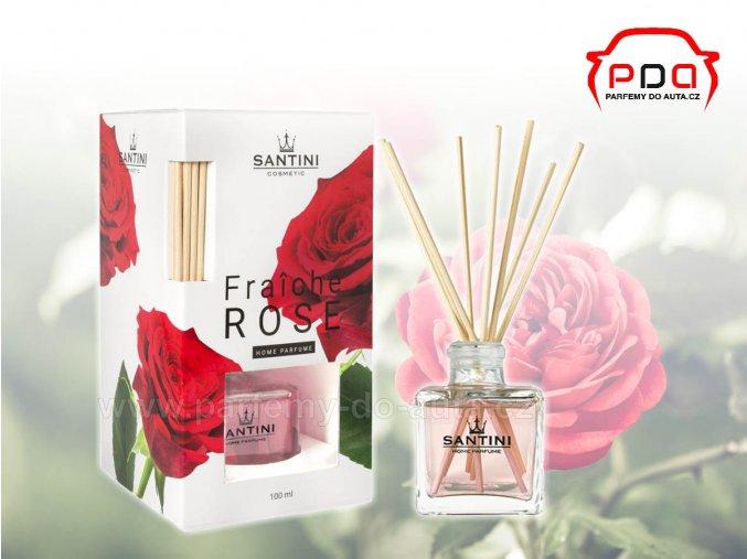Santini Rose řůže bytový aroma difuzér