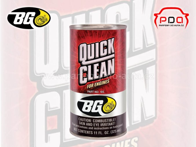 BG 105 Quick Clean výplach motorového oleje