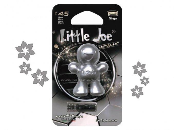 Little Joe Metalic Ginger zázvor stříbrný panáček do auta