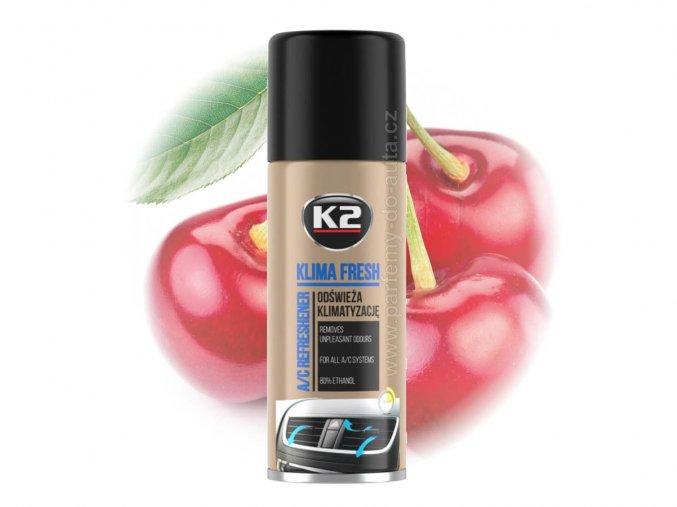 čistič klimatizace K2 Klima Fresh Cherry Višeň 150ml