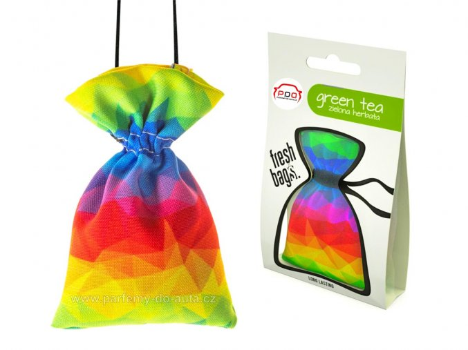 Fresh Bags ABSTRACT Green Tea pytlík ReadySteady