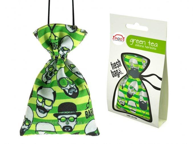 Fresh Bags BARBER Green Tea pytlík ReadySteady