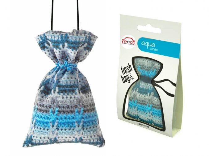 Frash Bag WOOL Aqua pytlík ReadySteady