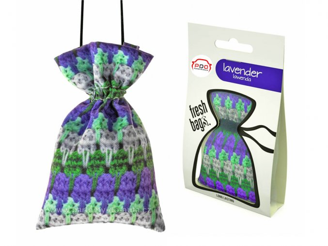 Fresh Bag WOOL Lavender pytlík ReadySteady