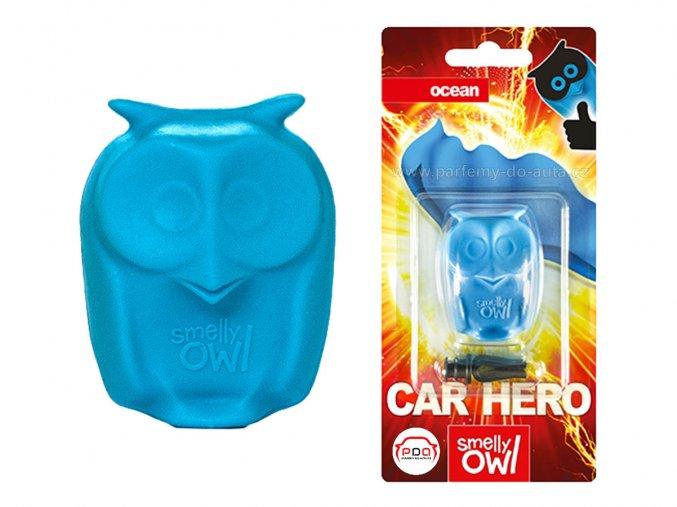 Sovička vůně do auta Smelly Owl Ocean