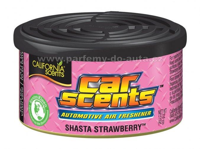 California Car Scents Jahoda Strawberry