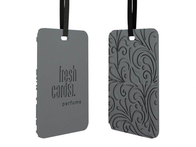 vonná karta Fresh Cards Perfume ReadySteady Black