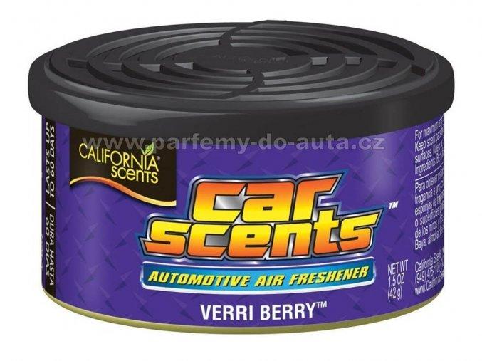 California Car Scents Borůvky Verri Berry