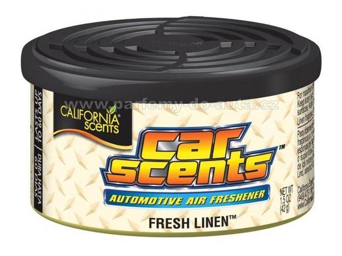 California Car Scents Čerstvě vypráno Fresh Linen