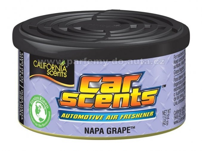California Car Scents Hroznové víno Napa Grape