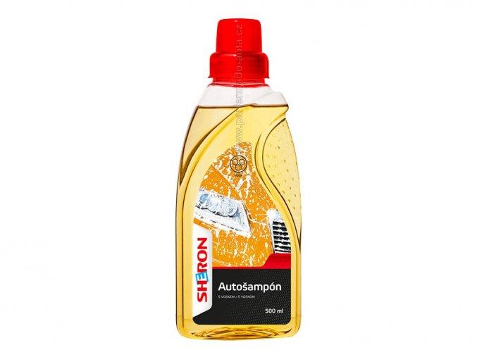 Autošampón s voskem Sheron 500ml pro ruční mytí auta