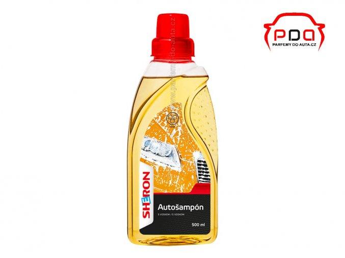Autošampón s voskem SHERON 500ml pro ruční mytí atuomobilů