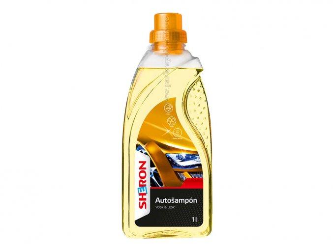 Autošampón vosk & lesk Sheron 1000ml pro ruční i strojní mytí auta