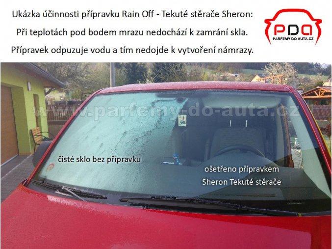 Sheron Tekuté stěrače Rain off na čelní sklo 500ml