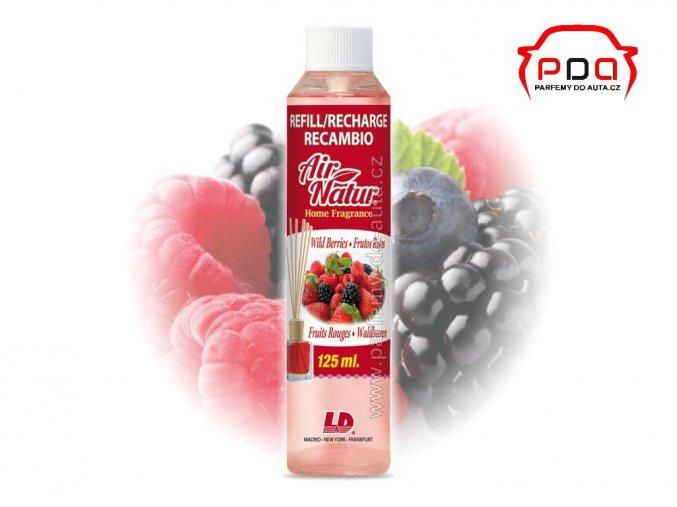 Náhradní náplň do difuzéru Air Natur Wild Berries Lesní plody L&D Aromaticos