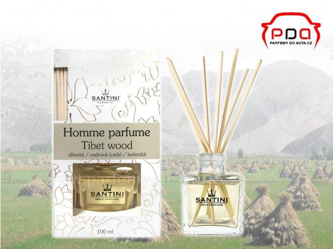 Santini Tibet Wood bytový aroma difuzér