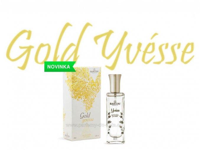 Santini Gold Yvésse dámský parfém 50ml J'adore Christian Dior