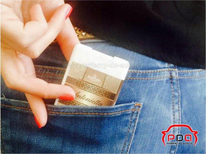 Santini Green Yvesse MINI parfém do kapsy pro ženy