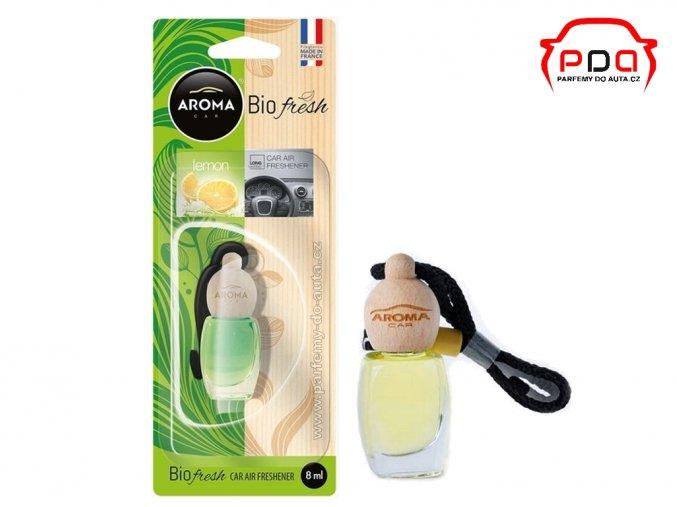 Aroma Car Bio Fresh Lemon - Citrón