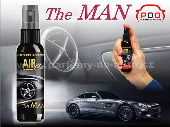 Parfém luxusní vůně do auta Air Car Perfume The Man Muž
