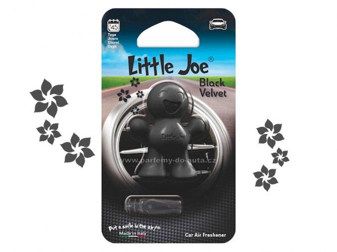 Little Joe Black Velvet černý samet panáček do auta