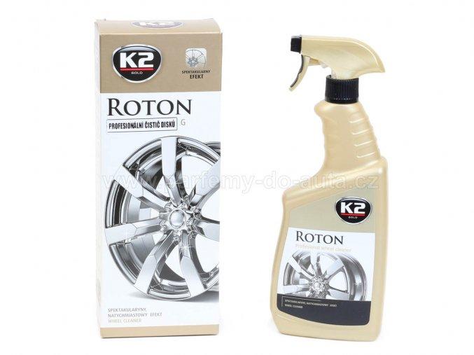 K2 Roton Profesionální čistič disků s červenáním