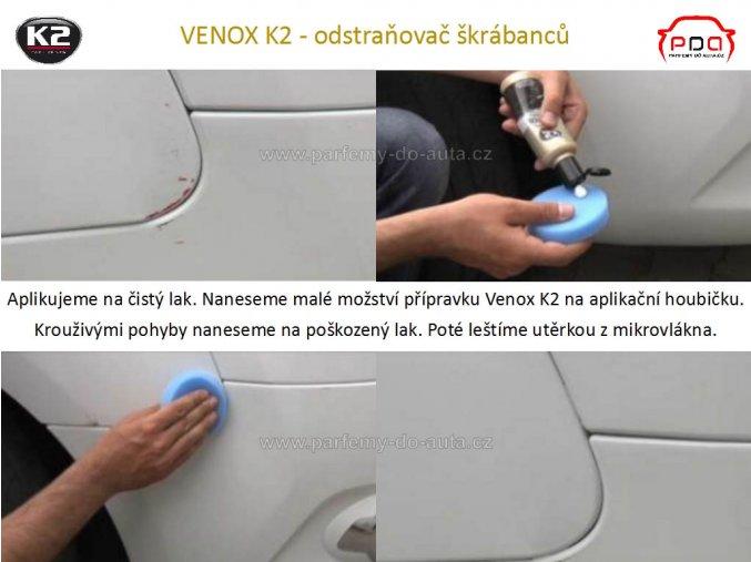 Odstraňovač škrábanců Venox K2