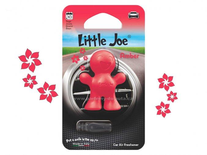 Little Joe Amber jantar červený panáček do auta