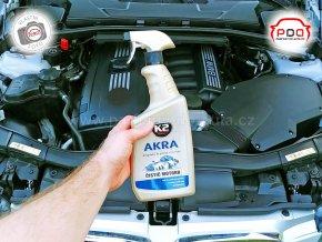 K2 Akra - Čistič motorů, nářadí, podlah a jiných povrchů