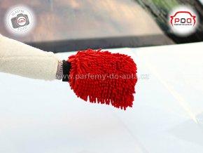 Rukavice mycí z mikrovlákna Sheron
