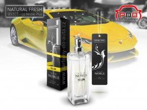 Parfém do auta Le Noble Yellow žlutý Natural Fresh