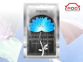 Vonný sáček Scented Sachet Silver Fresh Linen čerstvé prádlo Natural Fresh