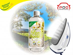 vůně do žehličky Ironing Water Fresh Morning s vůní svěží ráno 500ml Natural Fresh